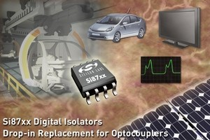 Si87xx Optocoupler Replacement Digital Isolators-Image