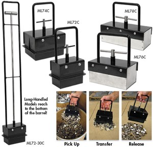 Heavy & Light Duty Magnetic Bulk Parts Lifters-Image