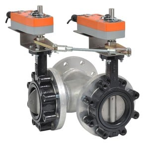Butterfly Valve; Integrated solution med/high flow-Image