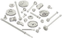 Miniature/small/medium sized zinc die cast parts-Image