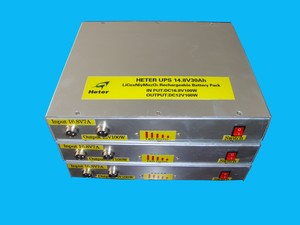 Li-ion Rechargeable Battery Pack 14.8V30Ah(18650)-Image