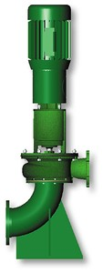 Vaughan E-Series Dry Pit Pedestal Chopper Pumps-Image
