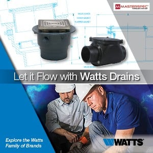 Let it Flow with Watts Drains-Image