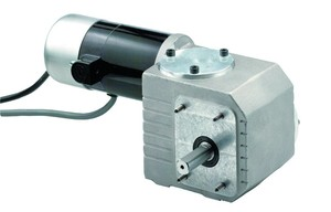 Compact Gearmotor For High Torque At Low Speeds From
