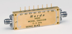 High-Speed Switched-Bit 63-dB Attenuator -Image