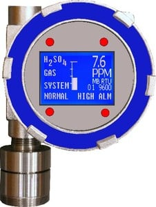 Gas Detector with Large Graphics Display-TA-2100-Image