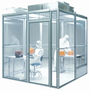 Latch-Together AirLock Modular Cleanrooms-Image