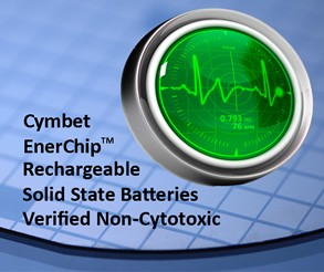 Non-cytotoxic EnerChip Batteries for Medical-Image