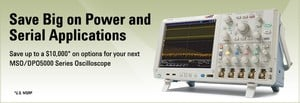 Save Big on Tektronix Power & Serial Applications-Image