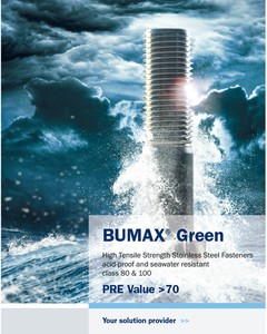 BUMAX GREEN Super Corrosion Resistant Fasteners-Image
