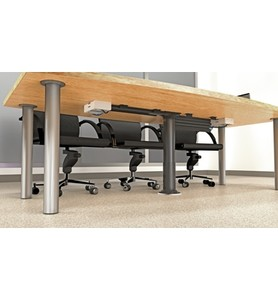 Under Table Cable Management System Image