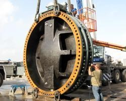 "144"" AWWA BUTTERFLY VALVES for New Orleans -Image"
