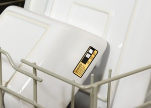 Thermostrip® DL Dishwasher Temperature Labels -Image