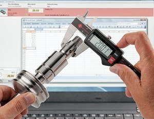 Digital Calipers with Wireless Data Transmission -Image