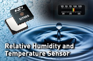 Si7005 Single-Chip Humidity and Temperature Sensor-Image