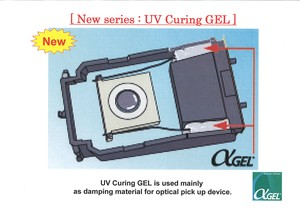 "UV Curing GEL ""Alpha Gel series"".-Image"
