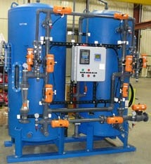 Demineralizer System...produce high purity water -Image