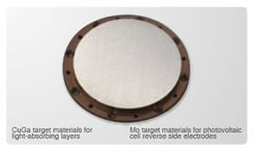 Target Materials for CIGS Photovoltaic Cells -Image