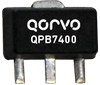 QPB7400 75 Ohm Adjustable Gain RF Amplifier-Image