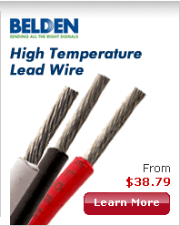 Belden PTFE High Temperature Lead Wire-Image