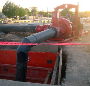 Sewer Bypass Pumping from Griffin Pump -Image