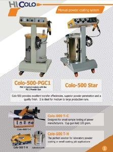 CHINA SUPER electrostatic powder coating equipment-Image