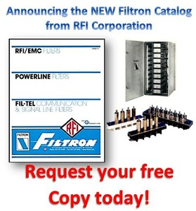Filters RFI/EMC, Communications & Signal Line -Image