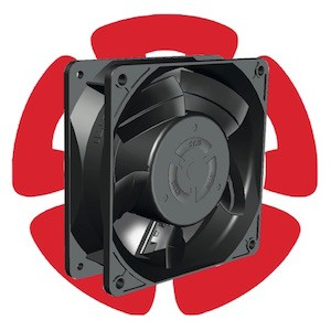Advanced 120-mm EC Fan With Winglet-Style Blades-Image