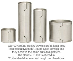 SPIROL Introduces New Ground Hollow Dowel-Image