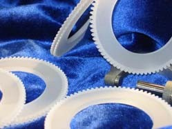Precision ceramic gears in semiconductor process-Image
