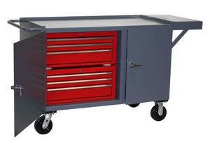 Mobile Workbench Tool Cabinets-Image