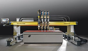 Combirex DX CNC Plasma Shape Cutting Machine-Image
