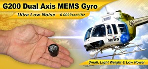 G200 Dual Axis Low Noise MEMS Gyro-Image