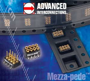 SMT Connectors- Mezza-pede Low Profile, 1mm pitch-Image
