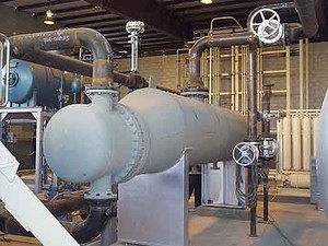 Thermal Fluid Heater w. Steam Generation System-Image