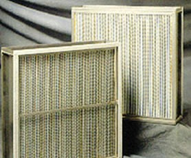 Pleated Filters for HVAC Industry-Image