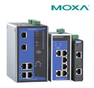 DIN-Rail Managed Ethernet Switch - EDS Series-Image