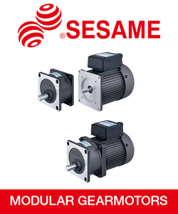 Modular AC Gearmotors with Gear Ratios from 3-180 from