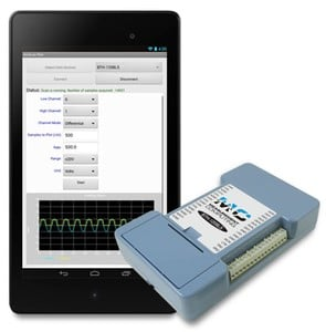 New Bluetooth DAQ with Android™ & Windows® Support-Image