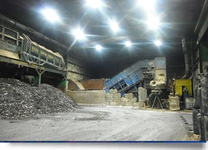 Waste/recycling facility cuts lighting energy 68%-Image