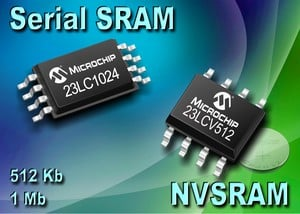 Microchip Expands Serial SRAMs-Image