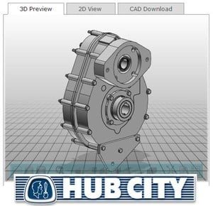 Power Transmission Components - 3D CAD Files-Image