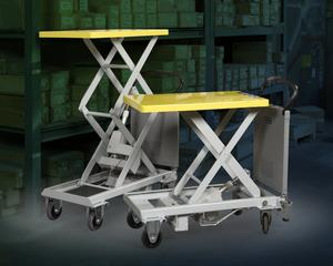 ERGONOMIC LIFTER/TRANSPORTER WITH POWERED LIFT-Image