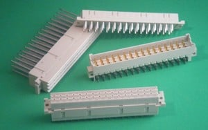 F Series Eurocard Connector - 48 pins at 6A/pin-Image