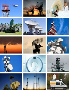 Satellite, Wireless, Military, Industrial &Medical-Image