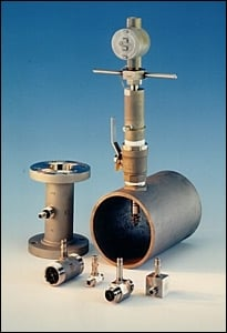HP Series Insertion Turbine Flowmeters-Image