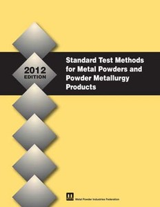 Standard Test Methods for Metal Powders & PM Prod.-Image