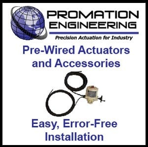 Pre-Wired Electric Actuators and Accessories-Image