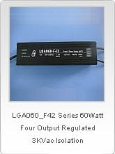 60 Watt, Four-Output Switching Power Supply-Image