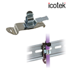 EMI Shield Clamps for DIN rails shape H-Image
